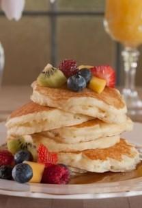 Whispering Pines Bed & Breakfast pancakes