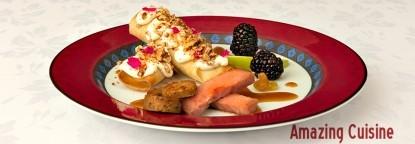 Domaine Madeleine bed  & breakfast, cuisine