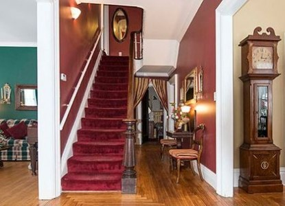 Antique and Irish Welch House staircase