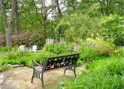 Inn at Tanglewood Hall garden