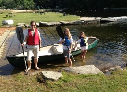 Noble House Inn canoeing
