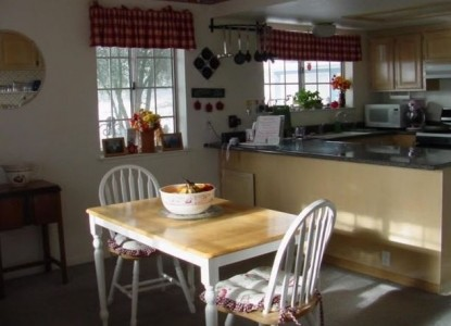 Apple Blossom Bed and Breakfast Inn kitchen
