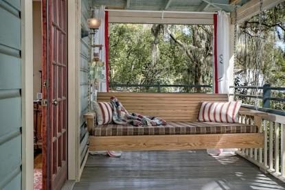 The Magnolia Plantation Inn, patio