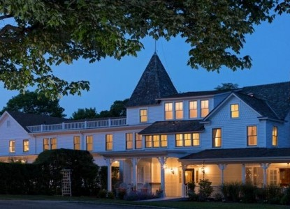 We are located in Shelter Island Heights, NY.  Style distinction, warmth, and intimacy are combined with architecture that has maintained its historic  details and chic elegance.