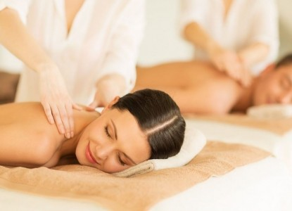 Indulge in a 1 hour massage for two
