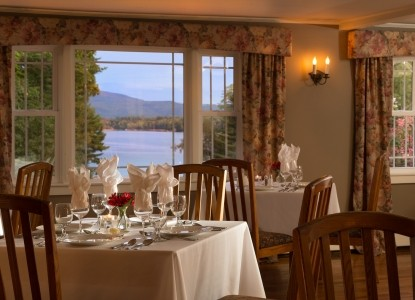 The Inn at Pleasant Lake Dining Room