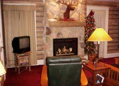 932 Penniman, A Bed & Breakfast, christmas fireplace
