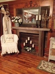 Miss Lissia's Carriage House/Cottage, fireplace