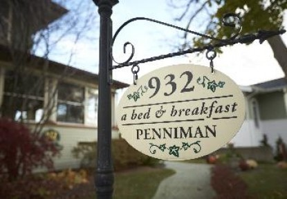 932 Penniman Bed & Breakfast, marquee
