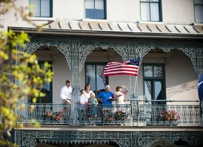 John Rutledge House Inn Balcony