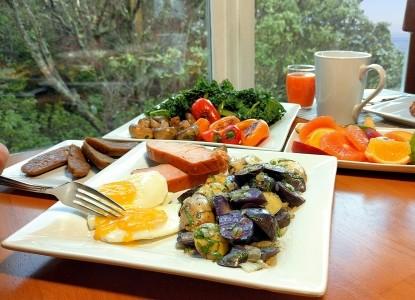 Domaine Madeleine Bed & Breakfast, breakfast