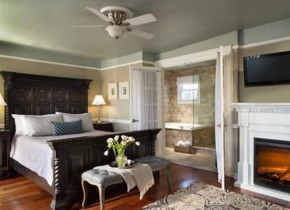 Bayfront Marin House, bedroom