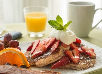 The Chadwick Bed & Breakfast Food