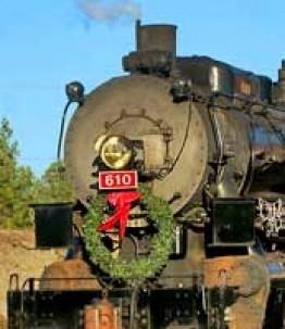 Chanticleer Inn Bed & Breakfast train