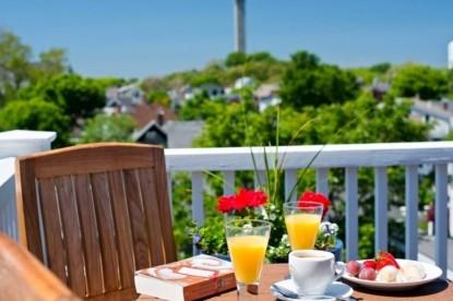 Benchmark Inn breakfast
