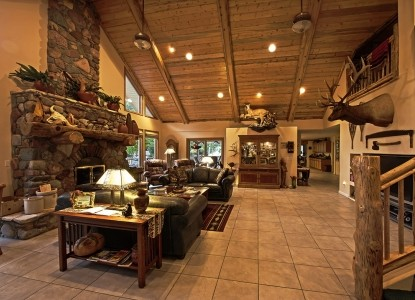 Rocky Point Ranch Living Room