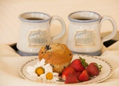 Deerfield Inn breakfast
