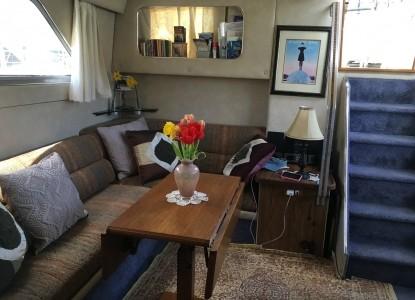 The Golden Slipper Living Room