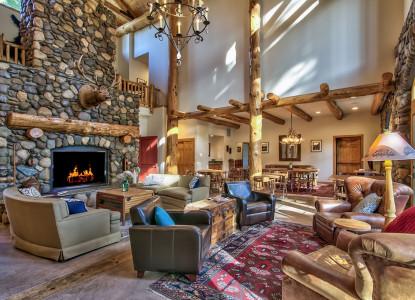 Black Bear Inn, common lounge