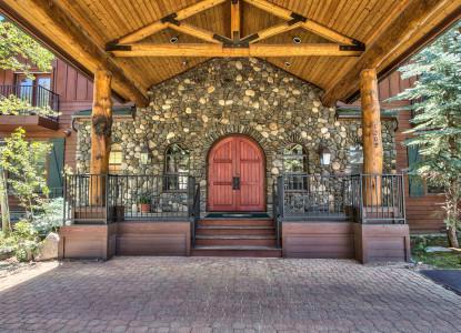 Black Bear Inn, front door