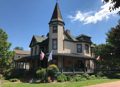 Side View of Hummingbird Inn