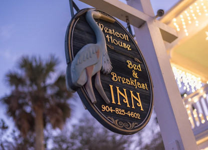 At Bayfront Westcott House, a St Augustine FL luxury B&B, ask and you shall receive!