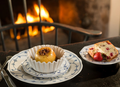 1836 Bridgeton House on the Delaware-breakfast