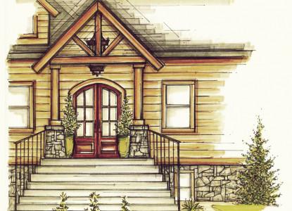 Franziska Haus Bed & Breakfast Drawing