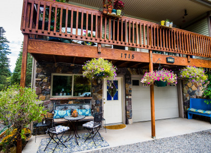 Bridal veil bed and breakfast