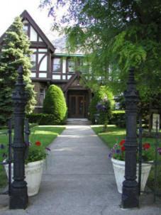 English Manor walkway