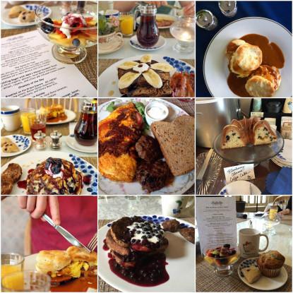 The Maple Inn, food