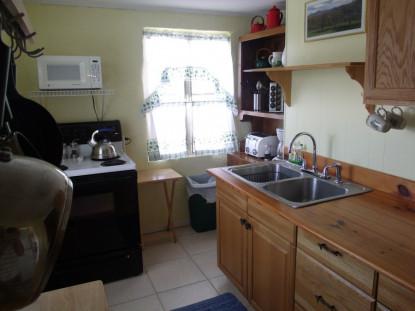 Mountain Suite kitchen