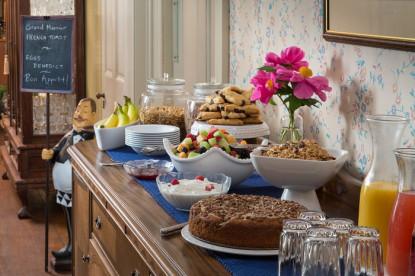 1800 Devonfield Inn, an English Country Estate, buffet table