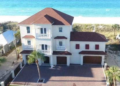 Mediterranean Luxury Gulf front home