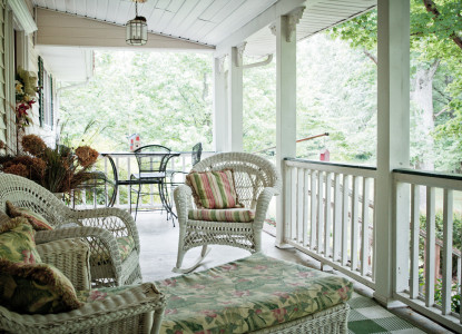 Wildflowers porch