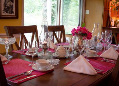 Wildflowers dining area