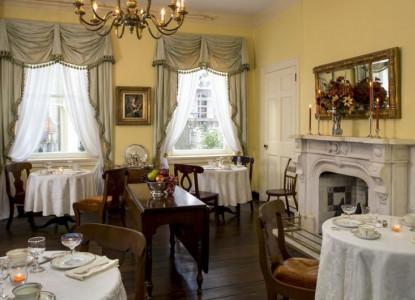 Rachael's Dowry, dining area