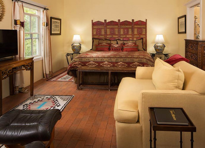 Spacious Mediterranean Style Estate offering peaceful gardens, trickling fountains, and luxury accommodations. Short distance to Chaco, Mesa Verde, and Durango.