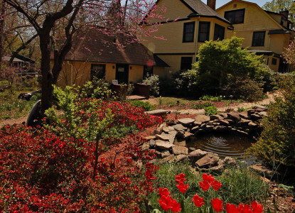 The Carolina Bed & Breakfast Inn is a perfect place for a lovely weekend getaway, garden wedding, or vacation. The inn is on a quiet street in the Historic Montford District a short walk to downtown.
