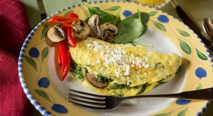 Tiffany's omelet
