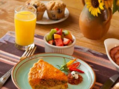 Casa Escondida, breakfast