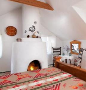 Casa Escondida, fireplace