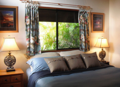 Honua Lani Gardens is a beautiful property just five minutes from the shores of Kealia Beach.