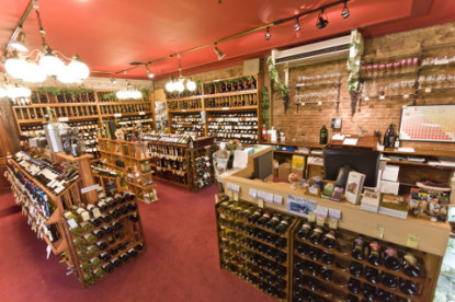Jacksonville Inn, wineshop