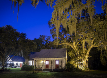 Historic waterfront B&B surrounded by 250 year-old live oak trees. Secluded location in Cajun Country just outside Breaux Bridge/Lafayette. The perfect getaway location for tranquility and relaxation.