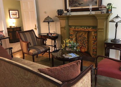 This historic 1833 Mill is a Bed and Breakfast located near Rochester at the beginning of the Finger Lakes in New York.   Ten beautiful uniquely decorated, country-elegant guest rooms are filled with