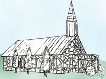 Whitney Wedding Chapel drawing