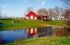 First Farm Inn, barn