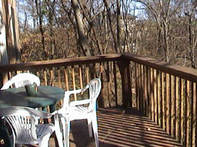 Oak Hill Farm and Cabins Deck