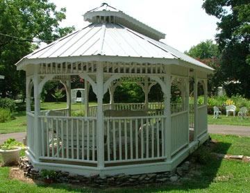 Magnolia Grove Bed & Breakfast, Gazebo